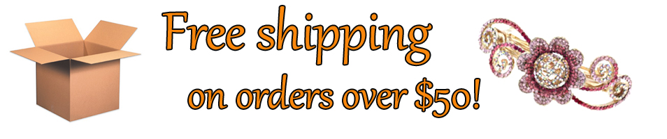 Free Shipping on orders of $50.00 and over