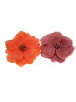 Thin Fabric Flower Hair Clip