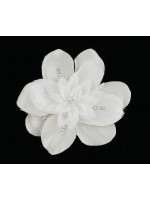 Hair Clip with Overlapping Flowers
