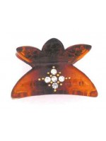 Six Petal Shaped Top Hair Claw
