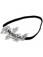 Branch and Leaves Design Stretchable Headband