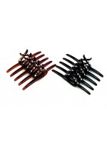 Angled Five Teeth Rhinestone Comb