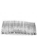 Twelve Rhinestone Top Comb
