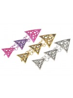 Triple Triangle Ponytail Holder