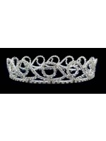 Fully Circled Tiara with Wave Pattern