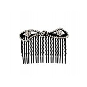 Oval Shaped Pattern Top Comb